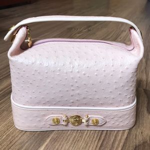 💯 % authentic Versace Ostrich Leather bag